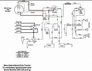 Basic Wiring Diagram For All Garden Tractors Using A