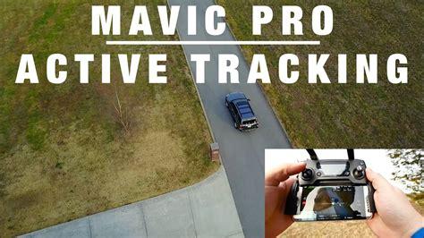 tutorial dji mavic pro active track epic footage