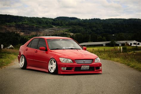 Toyota Altezza Jdm Japan Car Tuning Red Toyota Altezza Red