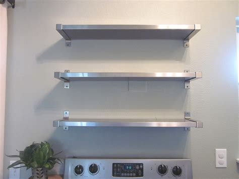 ikea kitchen stainless steel shelves stainless steel kitchen shelves kitchentoday