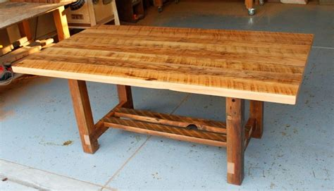 distressed wood dining table plans loccie  homes