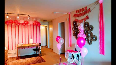Decorating Ideas Decoration by Diy Birthday Decoration Ideas At Home