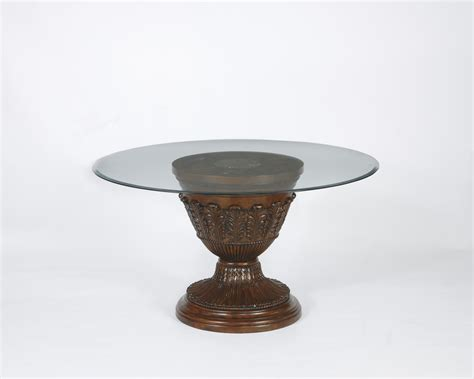 black table base for glass top black glass top rounded form coffee table with pedestal