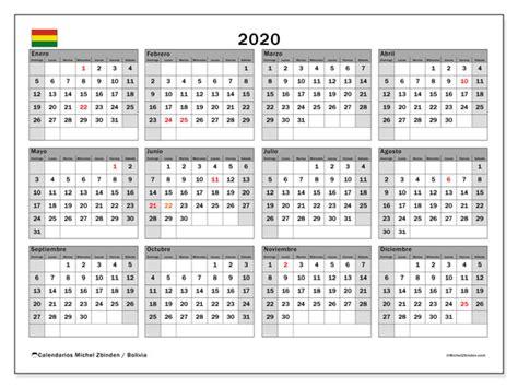 calendario bolivia michel zbinden es