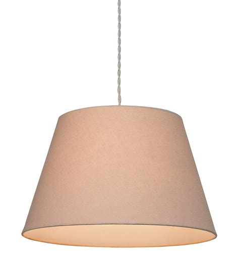 small drum l shade small drum pendant shade taupe