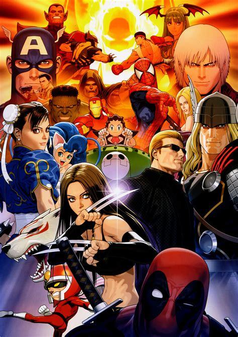 Marvel Vs Capcom 3 Tfg Review Artwork Gallery