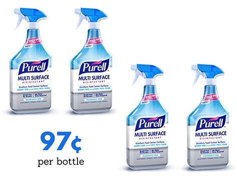 Purell Surface Cleaner, 97¢ at Publix :: Southern Savers