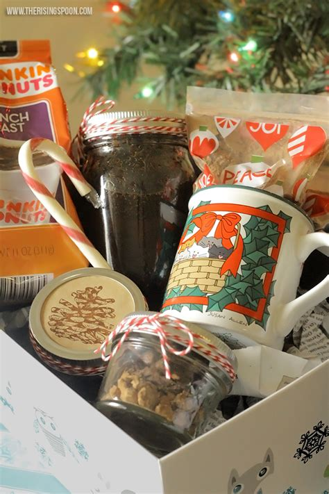To show appreciation for a teacher who down the drain connoisseur coffee baskets are peachy gifts to receive. DIY Coffee Lover's Gift Basket | The Rising Spoon