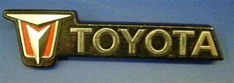 toyota old logo old toyota logo