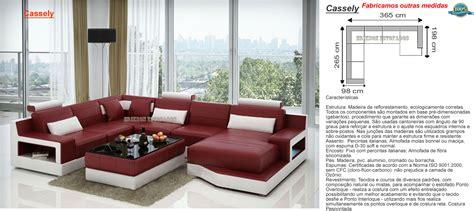 sofa de canto puff vermelho sof 225 para sala decorada decora 231 227 o de ambientes