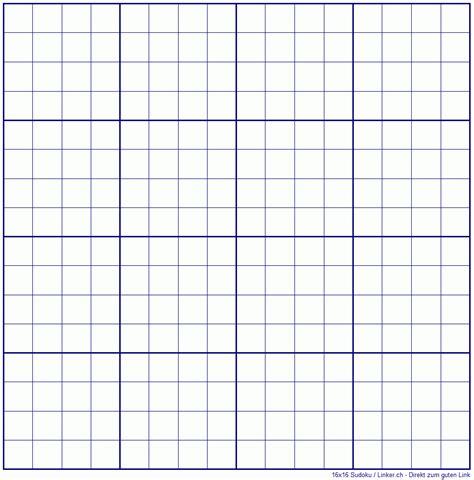 Ausdrucken druckvorlage leere tabelle zum ausfüllen : Sudoku Leer - Vorlage Raster - Leere Vorlagen with Sudoku ...