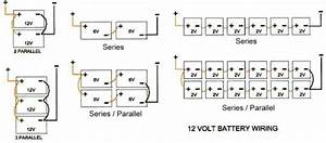 36 Volt Battery System Wire Diagram For Four
