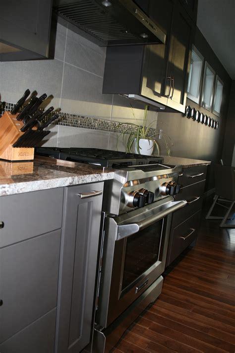 gray kitchen cabinets granite  cabinets  westridge