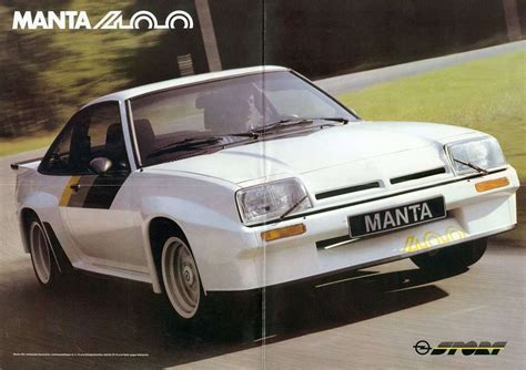 Opel Manta 400 by Images For Gt Opel Manta 400