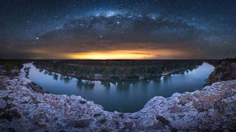 Milky Way Murray River Bing Wallpaper Download