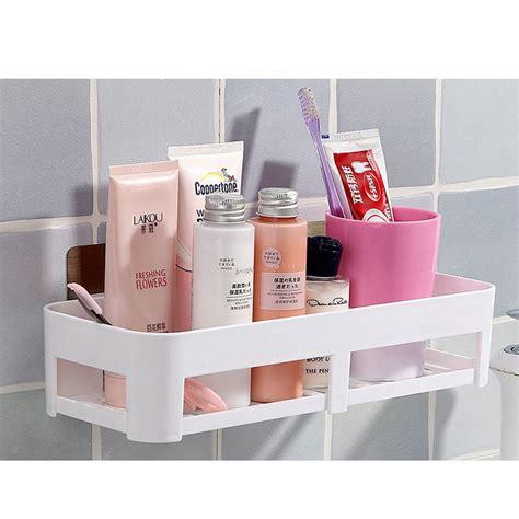 nail bathroom shelf shower storage rack holder