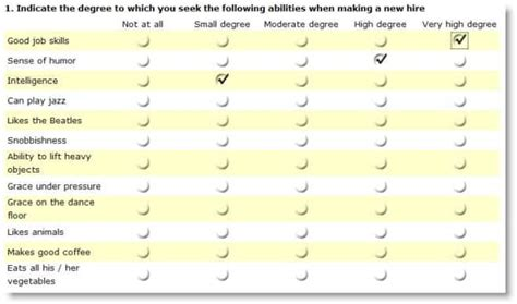likert scale templates word excel  formats