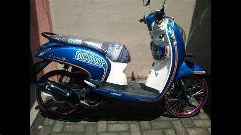 Scoopy Thailook by Kumpulan Modifikasi Motor Scoopy Thailand Terbaru