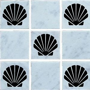 Transfers For Bathroom Tiles by Sea Shell Vinyl Wall Tile Stickers Decal Transfers For