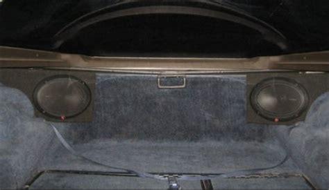 Corvette Rear Speaker by Corvette Audiophile Plus Speaker System With Speakers