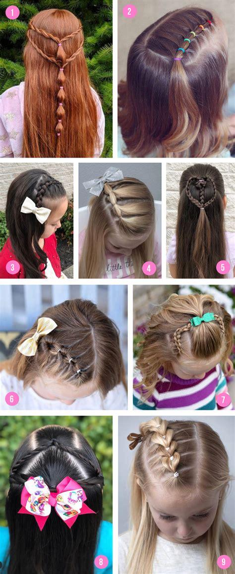 Easy Girls Hairstyles For Toddlers Tweens &