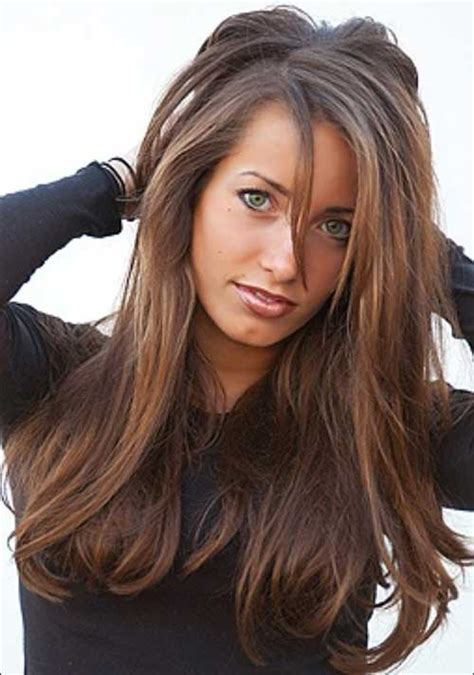 haircuts for brown hair 25 brown hairstyles hairstyles haircuts 4072