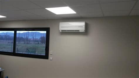climatisation bureau climatisation dans un bureau open space à bages