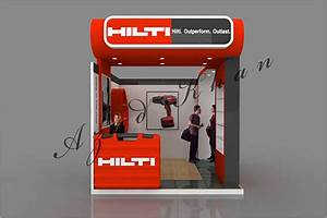 Hilti Stall Design on Behance