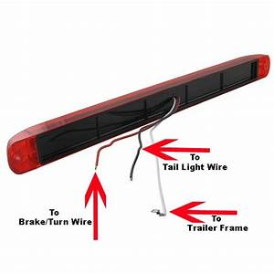 Can 3 Function Led Light Stl79rb Be Used For Stop  Turn  And Tail Lights On Both Sides Of