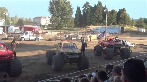 youtube monster truck show hutton motorsports monster truck show intro 39 s cowlitz