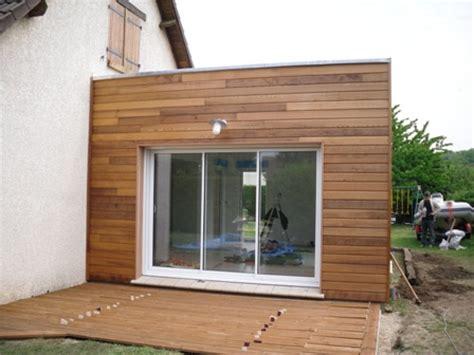 extension chambre extension de maison construite en ossature bois à evreux