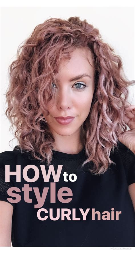 how to style naturally curly hair kier couture