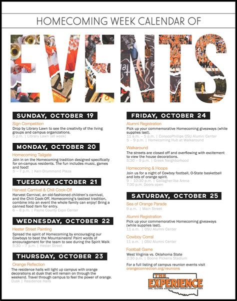 Template For Schedule Of Events by Schedule Of Events Flyer Search Sle Flyers