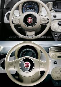 2016 Fiat 500  Facelift  Vs 2007 Fiat 500 Steering Wheel
