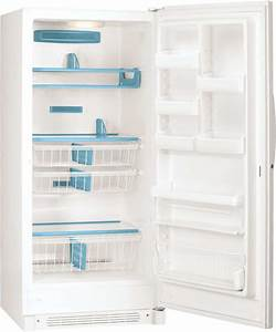 Frigidaire Glfh21f8hw 20 5 Cu  Ft  Upright Freezer With 3