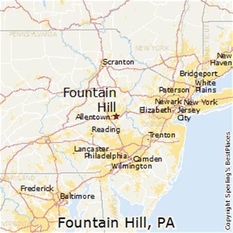 places    fountain hill pennsylvania