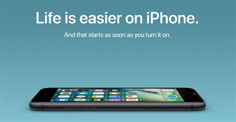 Apple's Latest Ad Campaign Urges Android Users To Switch