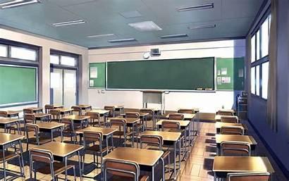 Classroom Wallpapers Backgrounds Desktop Background Digital Anime