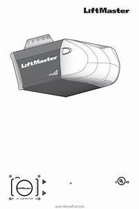 Liftmaster Premium Series Garage Door Opener User S Guide