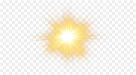 sunlight sky yellow pattern sun effect transparent png