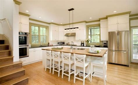 French Country Kitchen Decorating Ideas With Bamboo
