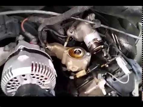 Replacing Thermostat Pressure Washing Van