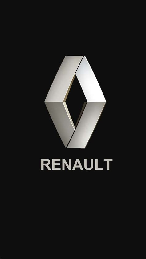 renault logo renault logo smartphone wallpapers pinterest car
