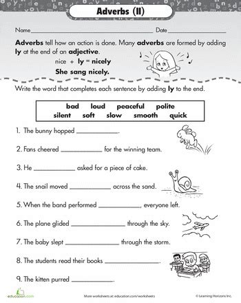 worksheets ly adverbs elementary school pins pinterest adverbs worksheets and literacy