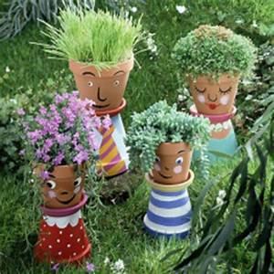 pots et jardinieres idees deco jardinerie truffaut With comment faire des couleurs avec de la peinture 5 diy pot customiser pot de fleurs jardinerie truffaut