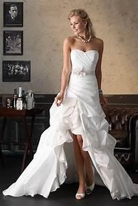 Hochzeitskleid Vorne Kurz