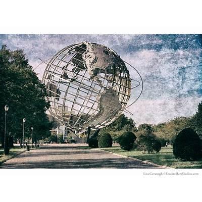 Unisphere Flushing Meadow Corona Park photography Worlds
