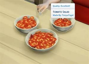 Tomato Salad By Plasticbox At TSR Sims 4 Updates