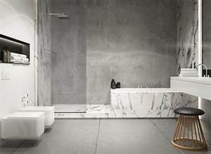 Betonoptik Wand Bad : beton farbe f r moderne wandgestaltung 5 wohnideen ~ Sanjose-hotels-ca.com Haus und Dekorationen