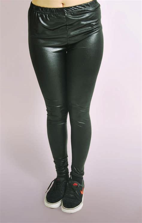 Wet Look Leggings